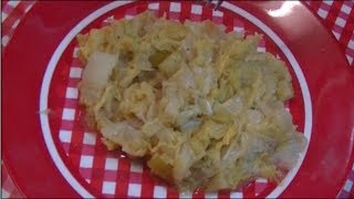 Pan Fried Cabbage Side Dish Recipe ~ Noreen's Kitchen