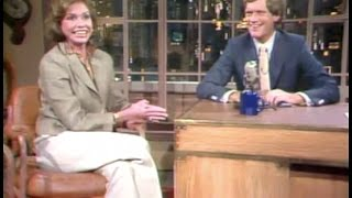 Mary Tyler Moore on Late Night, July 25, 1983