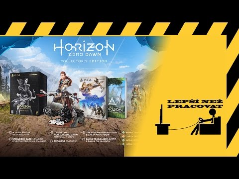 Český unboxing - Horizon: Zero Dawn Collector's edition