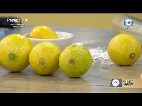 Cómo hacer rendir el limón