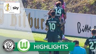 SV Elversberg - VfL Wolfsburg 0:1 | Highlights - DFB-Pokal 2018/19 - 1. Runde