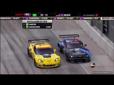 2013 American Le Mans Baltimore GP All Crashes & Incidents mp4