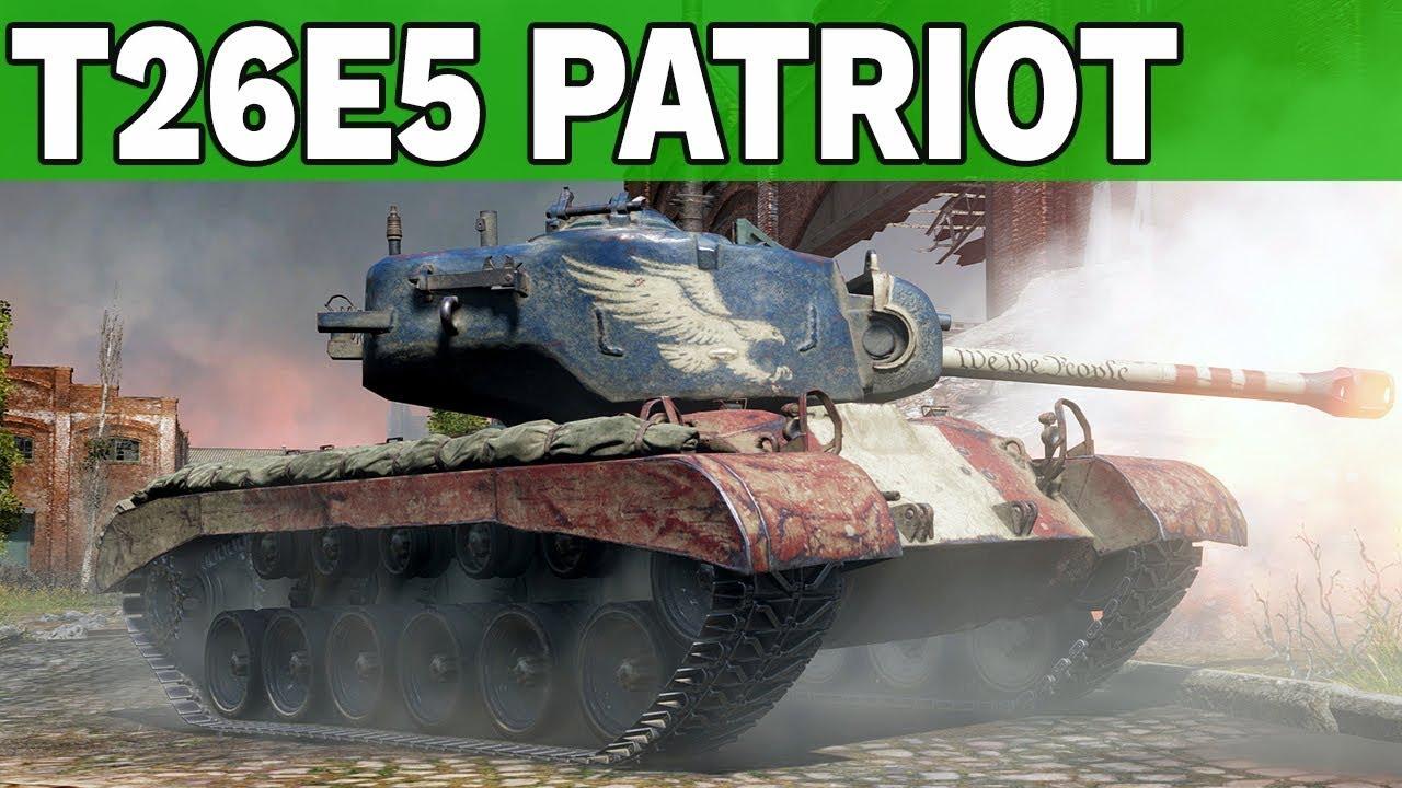 T26E5 PATRIOT- KALENDARZ ADWENTOWY  – World of Tanks