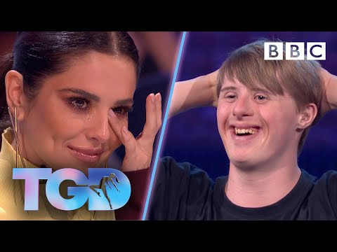 Inspiring dancer Andrew leaves Cheryl in floods of tears - The Greatest Dancer  Auditions