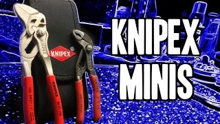 "Knipex Minis (5"" Cobras & 6"" Pliers Wrench) 00 20 72 V01 - MADE IN GERMANY"