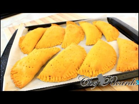 Jamaican Chicken Patties Recipe | Recipes By Chef Ricardo