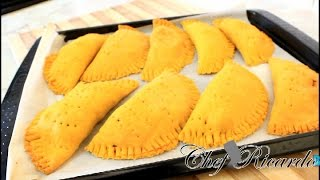Jamaican Chicken Patties Recipe From Chef Ricardo Cooking