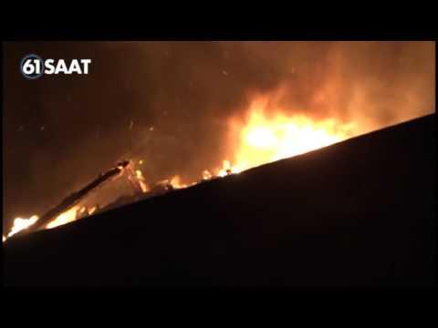 Trabzon Esentepe Mahallesi yangın