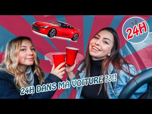 24H ENFERMÉES DANS MA VOITURE 🚗