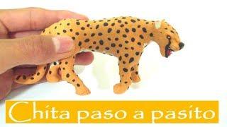 Felino Chita de plastilina, paso a pasito nene.