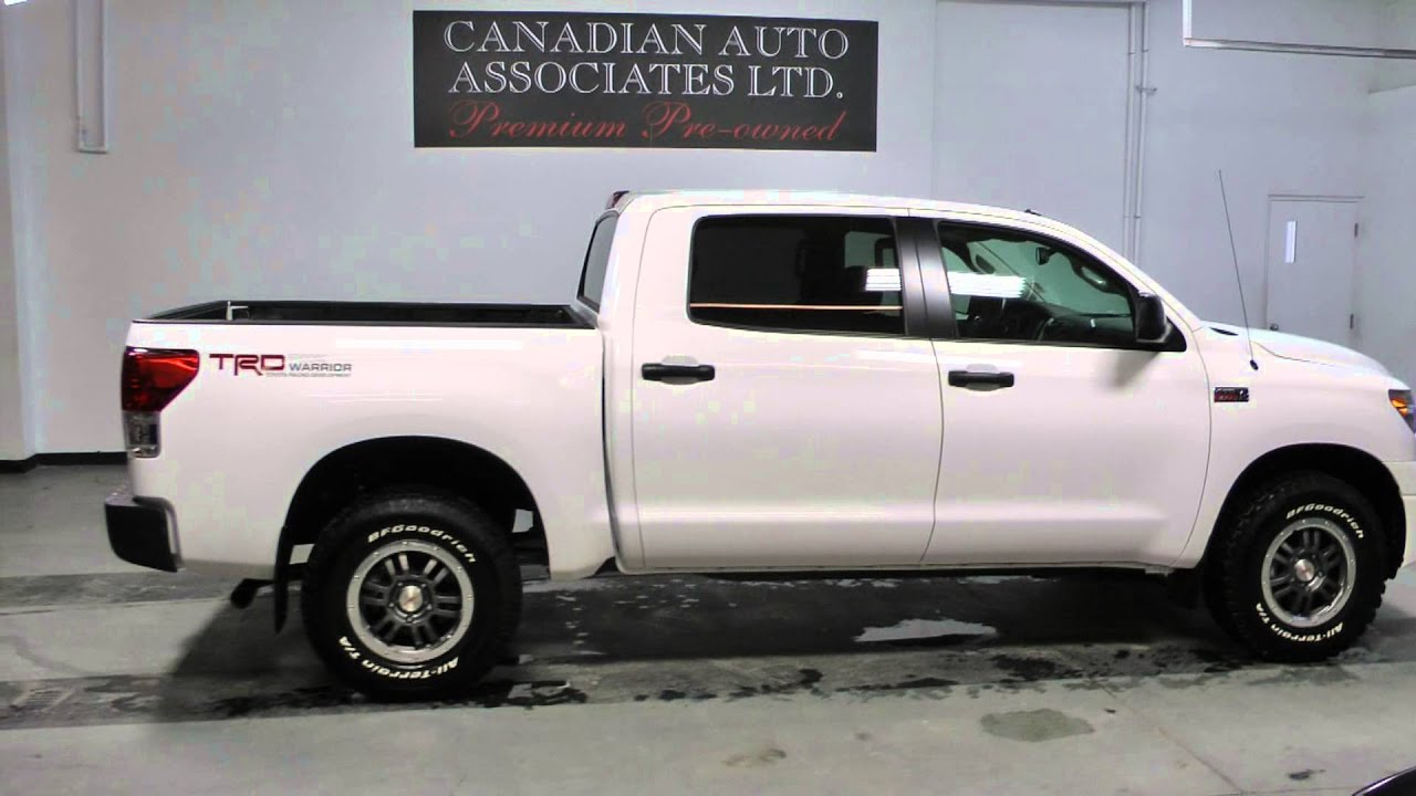 used 2011 toyota tundra 4wd crewmax 5 7l trd rock warrior for sale youtube. Black Bedroom Furniture Sets. Home Design Ideas