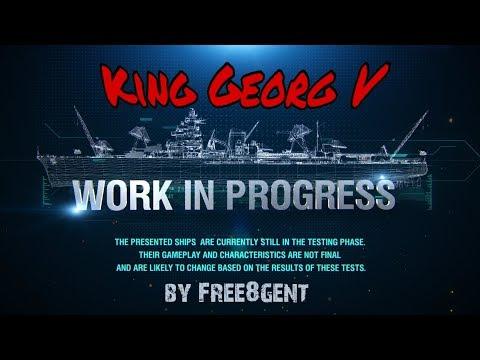 World of Warships [deutsch] – King Georg V   Work in Progress