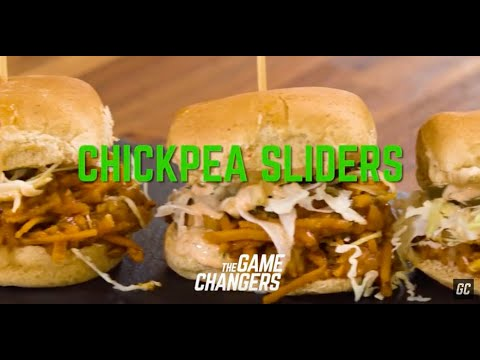 Barbecue Chickpea Sliders | The Game Changers