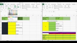 Excel 39 te Tablo Çalışması
