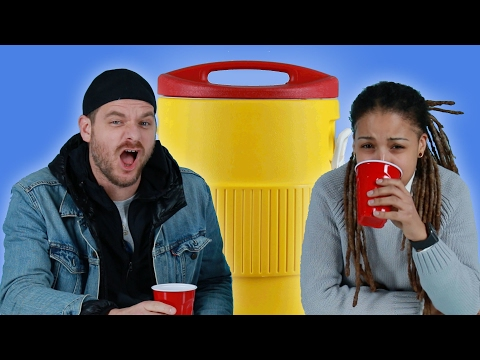 Thumbnail: Adults Drink Jungle Juice For The First Time Since College