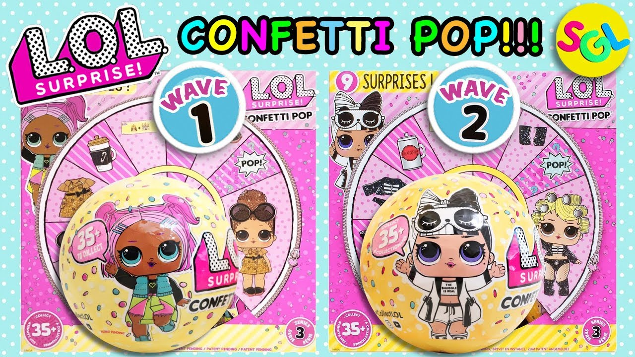 ❤️LOL Glitter BOSS QUEEN Surprise Doll Confetti Pop Series 3 Wave 1 toy