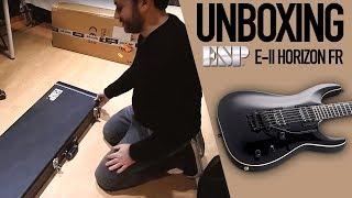 GUITAR UNBOXING: Esp E-II Horizon FR