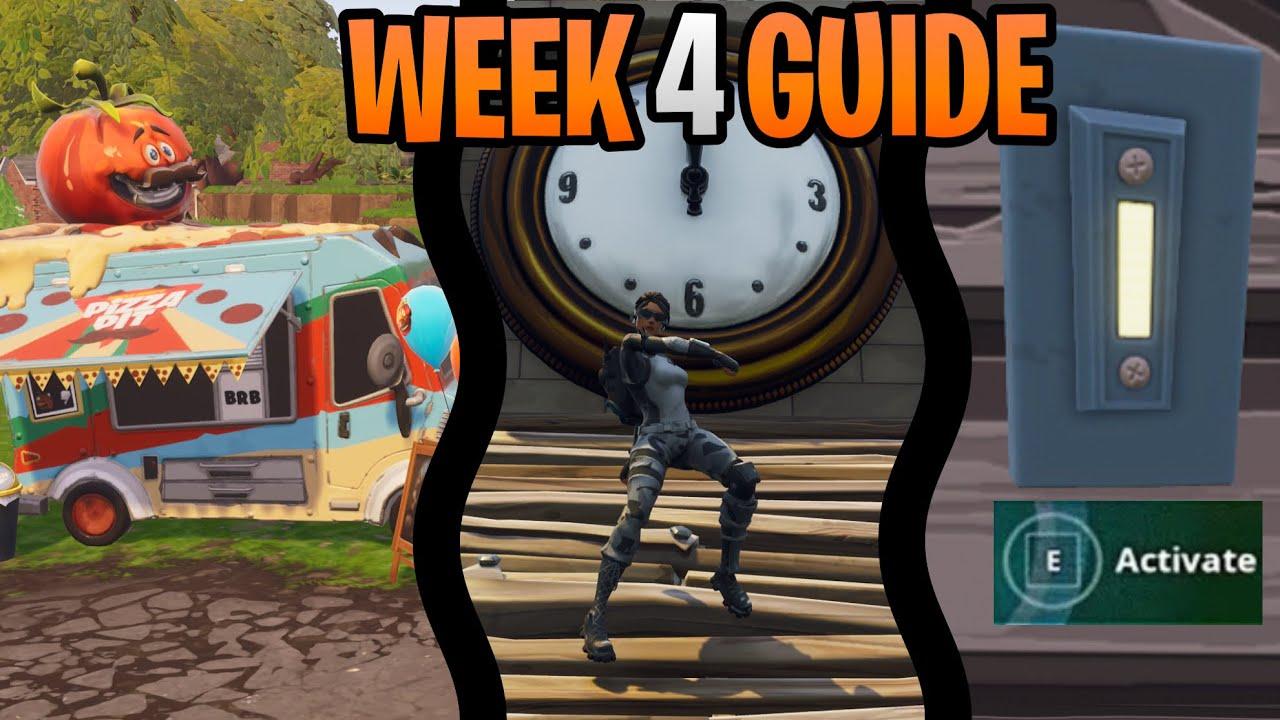 Shooting Gallery Locatios: Fortnite Season 6 Week 4 Challenges Guide