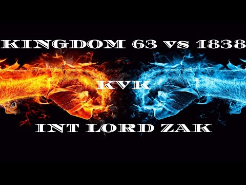 Clash of Kings: kvk 63 vs 1838! INT Alliance Lord Zak [Monster kills] (2019)[Karma is a B..ch!]