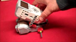 Lego Mindstorms Ev3 Rem-bot Building Instructions