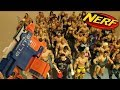 watch he video of WWE MATTEL NERF GUN FIGURE BATTLE ROYAL!!!