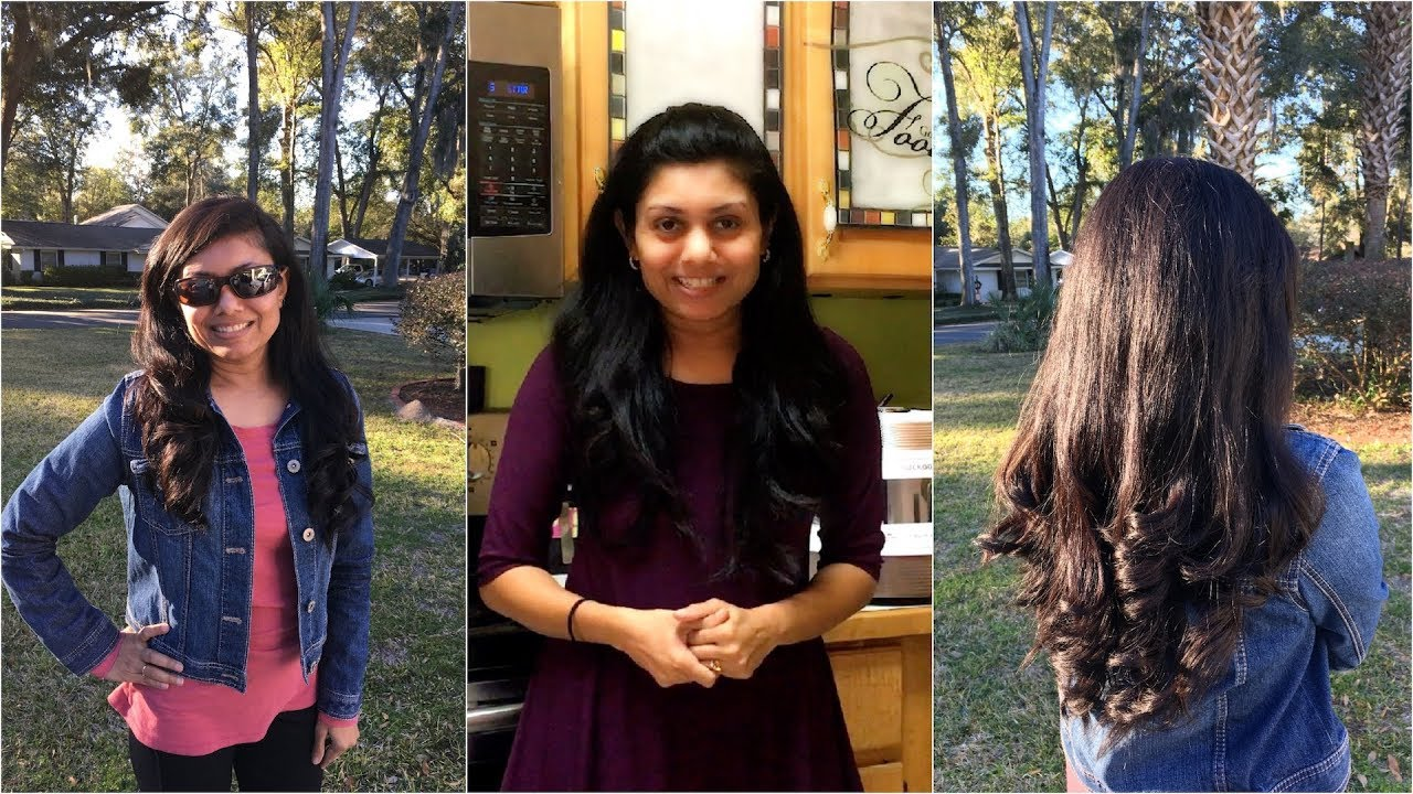 Getting Hairstyle Ready for Video Shooting | Bhavna's Kitchen
