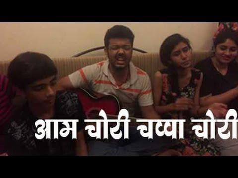 Aam chori chappa chori | Voice India contestants created an amazing song in fun