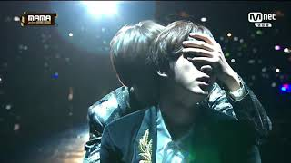 BTS MAMA 2016 - full: Boy Meets Evil + Blood Sweat & Tears + Fire (+ V & Jin's scene)