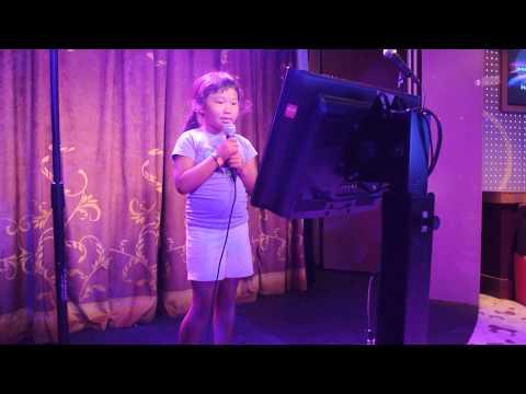 Bridgette's Karaoke Performance on Disney Dream