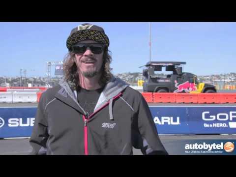 Buckey Lasek Interview @ Global Rallycross Media Day - Red Bull Subaru WRX STI