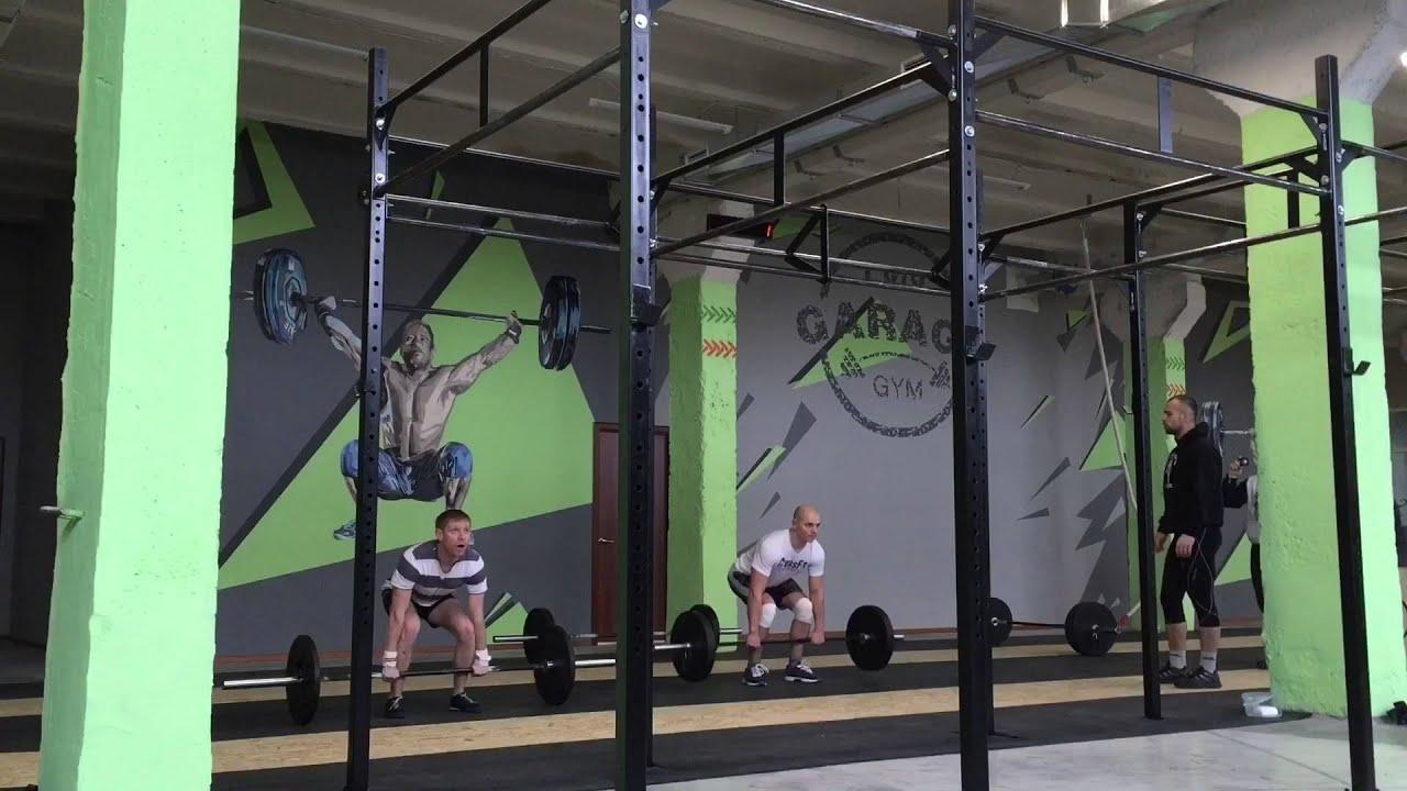 Crossfit lviv garage gym youtube