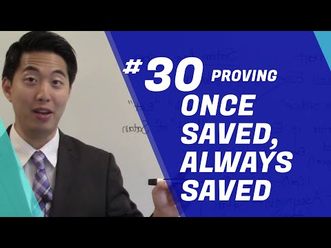 PROVING Once Saved, Always Saved. OSAS | Beginner's Discipleship #29 | Dr. Gene Kim