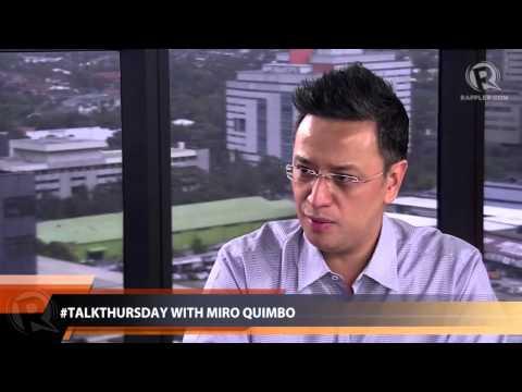 #TalkThursday with Miro Quimbo (part 3)
