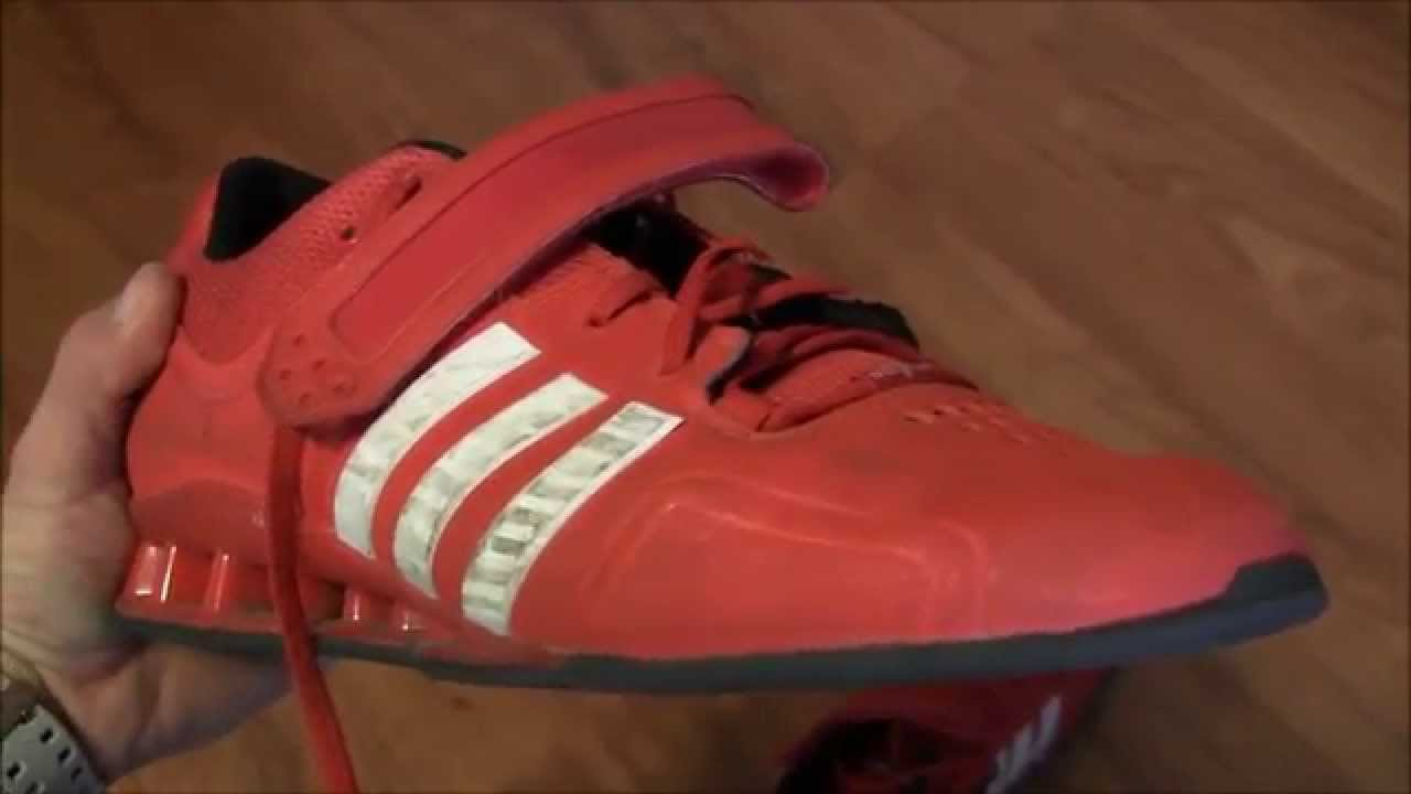 BioLayne Product Review - Adidas Adipower Lifting Shoes - YouTube 2ce4f1568a