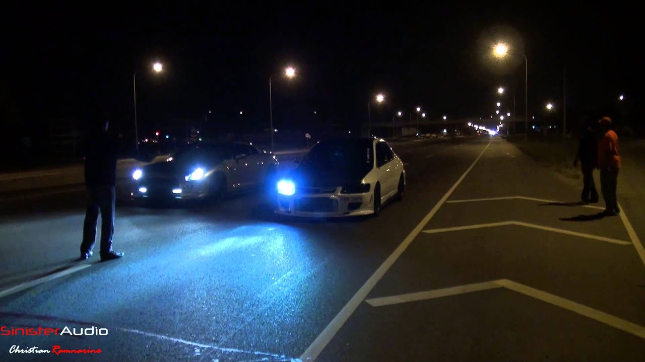 2008 Nissan Gtr Vs Mitsubishi Evolution 7 Street Racing