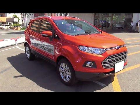 2014 New Ford ECOSPORT TITANIUM Exterior & Interior