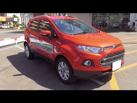 2014 new ford ecosport titanium exterior interior youtube. Black Bedroom Furniture Sets. Home Design Ideas