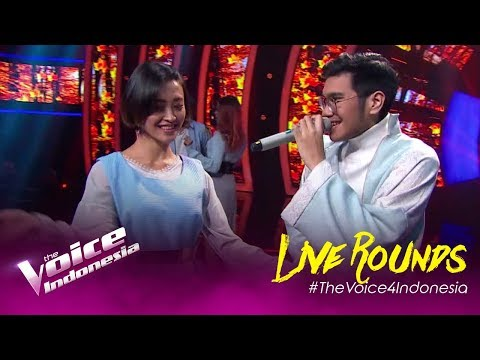 Galih Dan Ratna (Chrisye) - Kaleb   LIVE Rounds   The Voice Indonesia GTV 2019