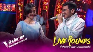 Galih dan Ratna (Chrisye) - Kaleb | LIVE Rounds | The Voice Indonesia GTV 2019