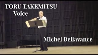 Michel Bellavance performs Takemitsu Voice for Solo Flute