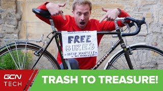 Trash To Treasure | How To Fix Up An Old Bike