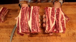 How To Butcher Short Ribs - Where Do They Come From?