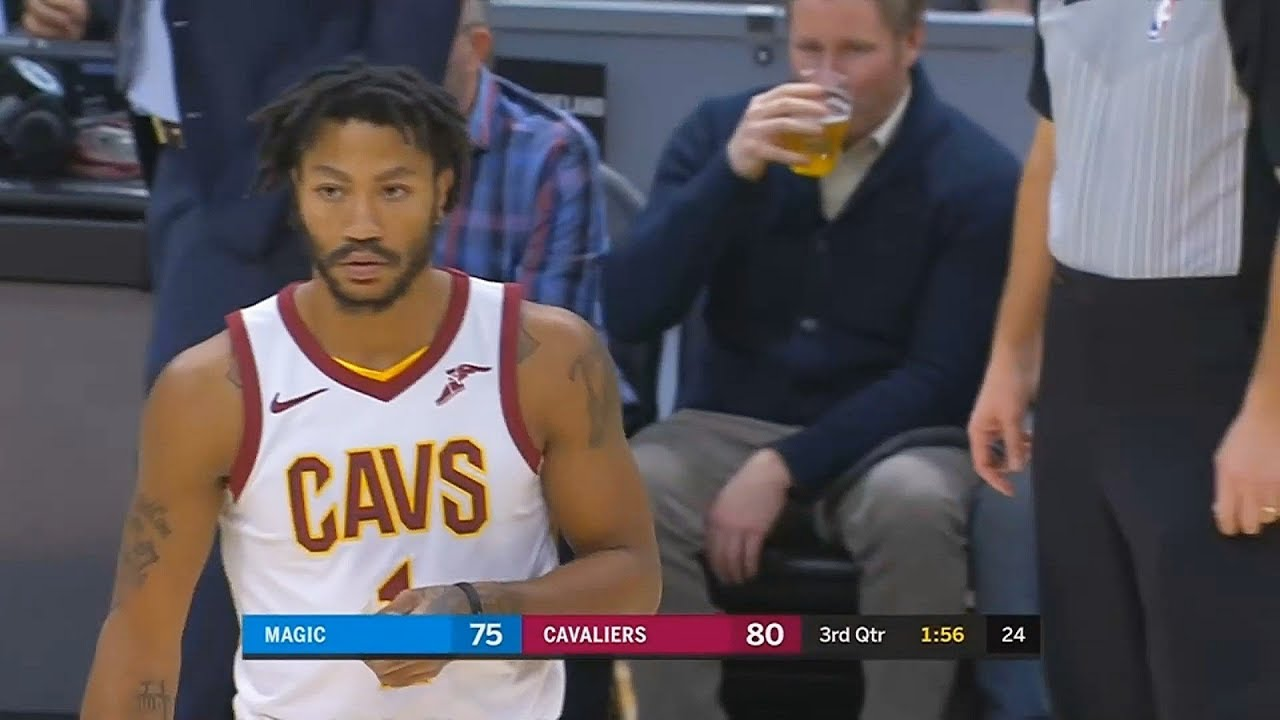c50bf6a1ee7 Derrick Rose Returns After Leaving Cleveland Cavaliers! Cavaliers vs Magic  January 18