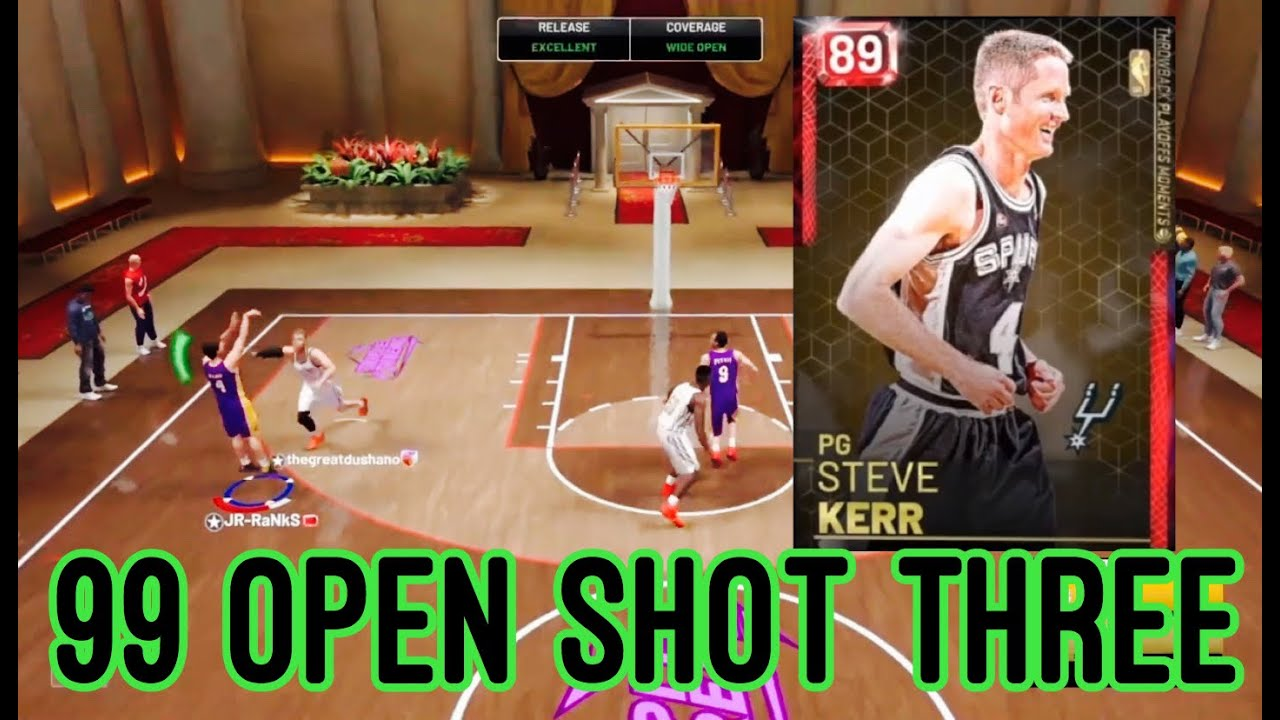 164f9b0ff RUBY STEVE KERR GAMEPLAY!! HE DESTROYED GALAXY OPAL BLAKE GRIFFIN !! NBA  2K19 MyTEAM