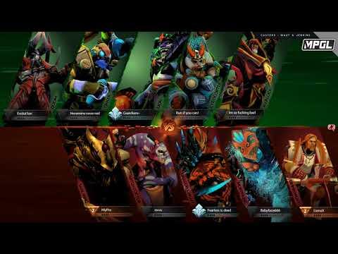 Alpha Red vs A.Slayer - MPGL Asian Regular - Game 1