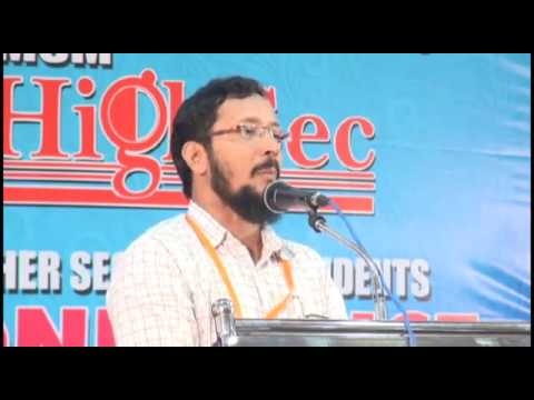 Musthafa Madani,  HIGHSEC, Higher Secondary Students Conference , Perinthalmanna