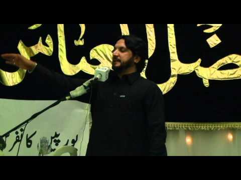 P.2 zakir iqbal hussain bajjar, paris 12/05/2012 shahadat bibi fatima (s.a)