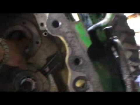 john deere 3140 tractor split - YouTube