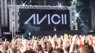 Avicii live Sunshine vs  Spectrum / Bromance @ Lake Festival 2013 in Graz [Full HD]