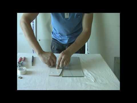 Как РЕЗАТЬ СТЕКЛО криволинейно (фигурный резка стекла)
